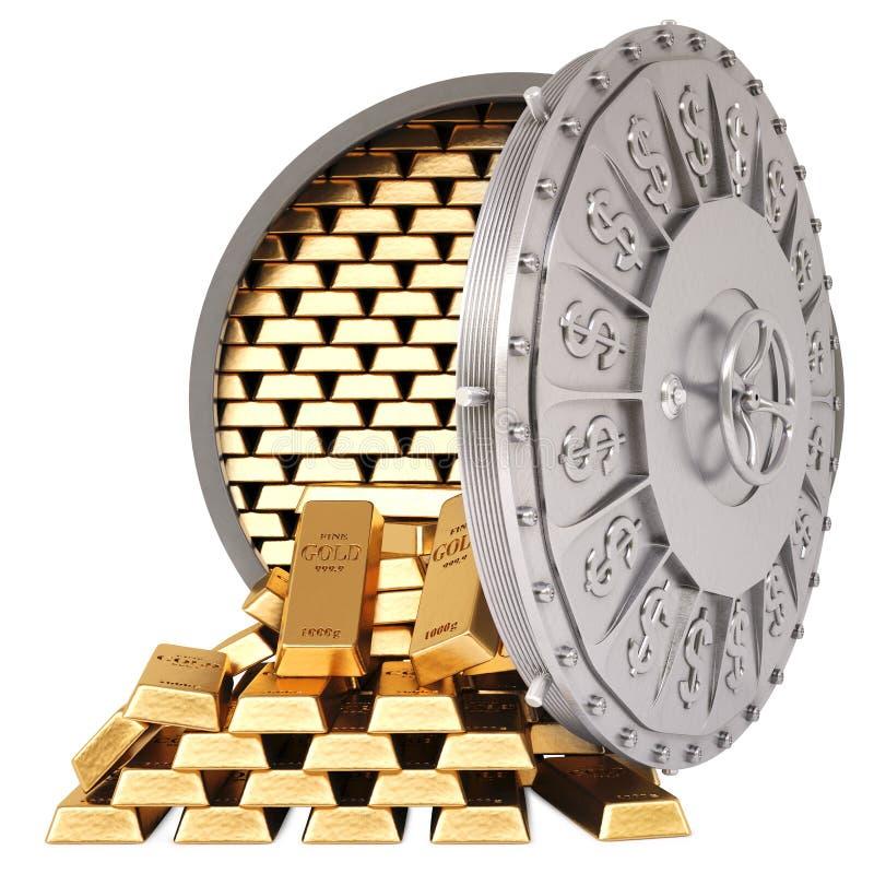 Download Vault stock illustration. Image of lock, precious, cash - 28592169
