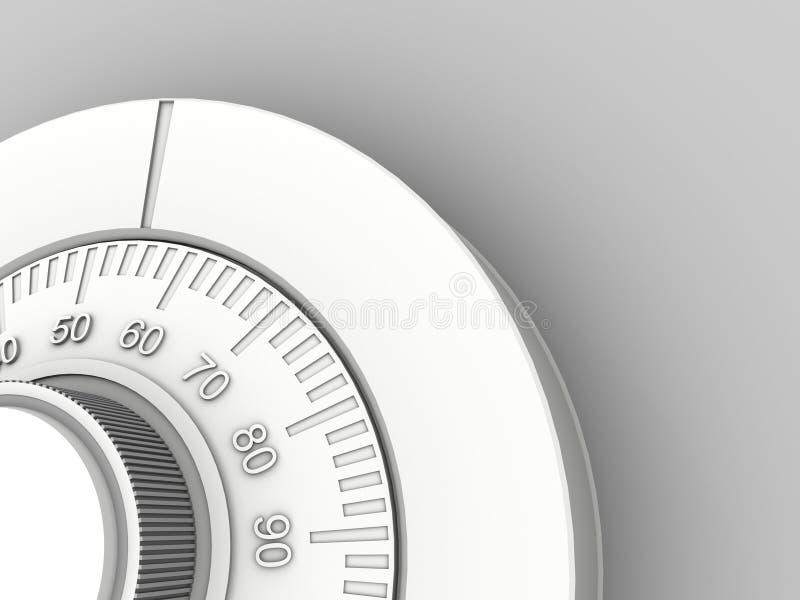 Download Vault 3d Clouse up stock illustration. Illustration of deposit - 2239144