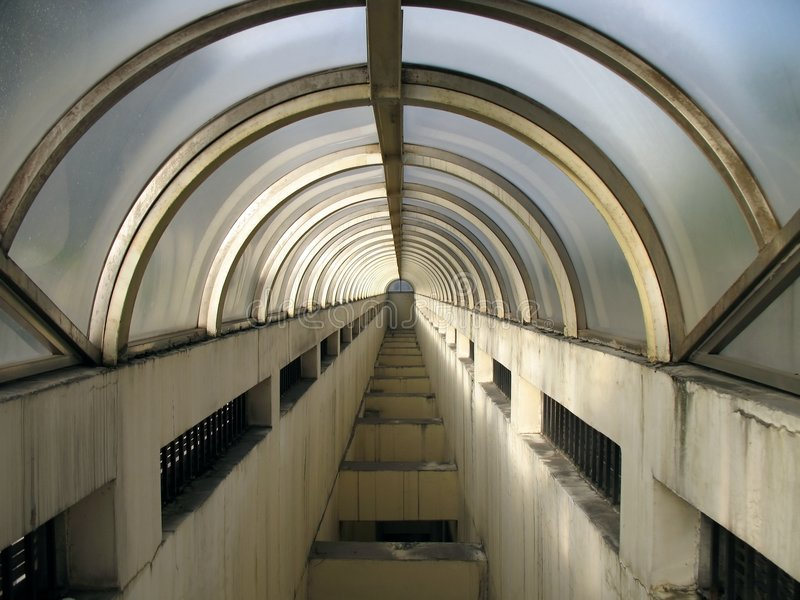 Vault subterrâneo fotografia de stock royalty free