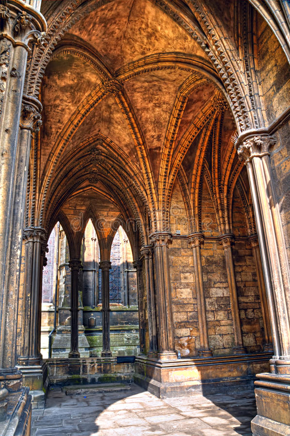 Download Vaulted Cloister,  Lincoln Cathedral, England Stock Image - Image: 27241383