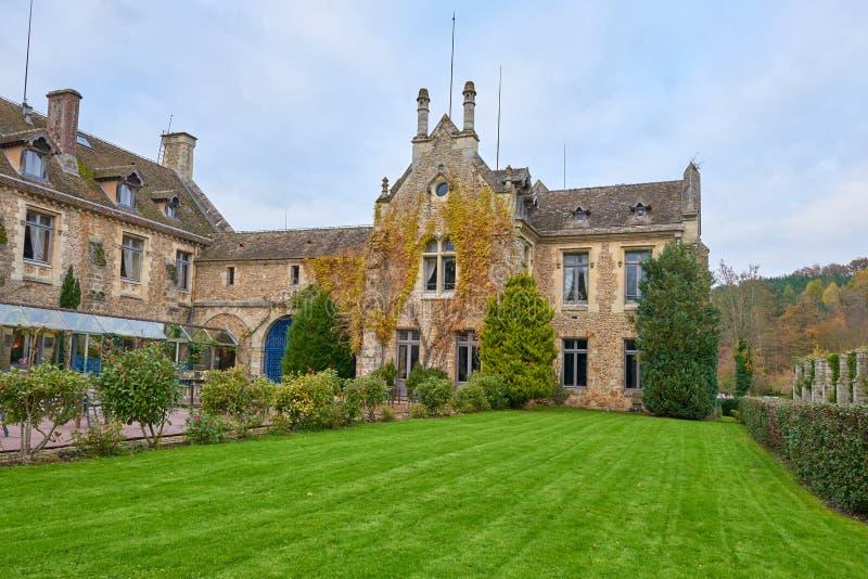 Abbaye des Vaux de Cernay stock photos