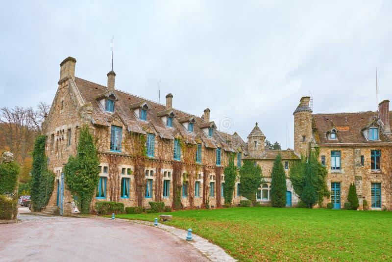 Abbaye des Vaux de Cernay royalty free stock images