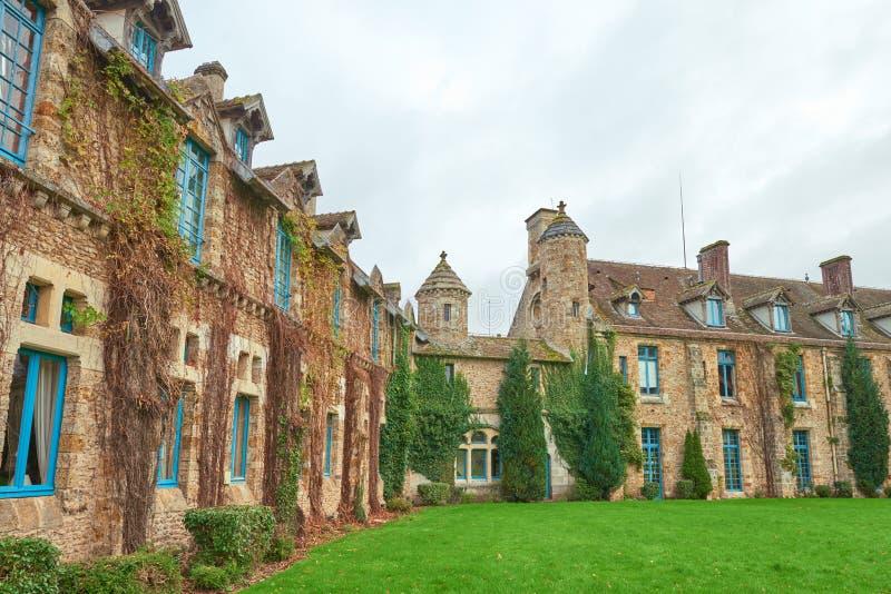 Abbaye des Vaux de Cernay royalty free stock photo