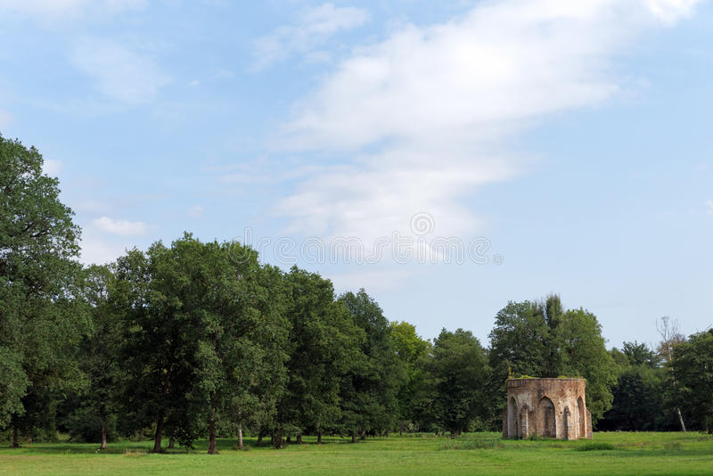 Vaux de Cernay abbey royalty free stock image