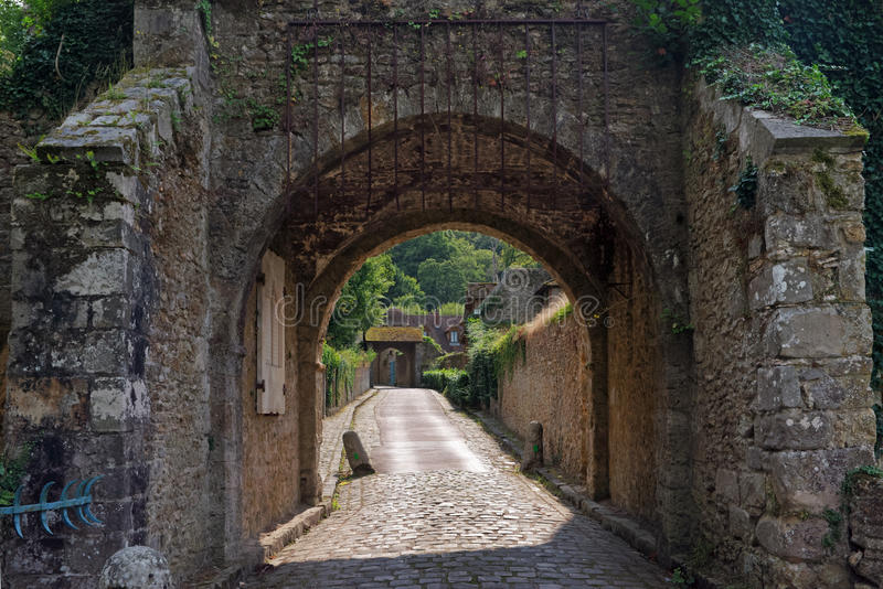 Vaux de Cernay abbey royalty free stock images