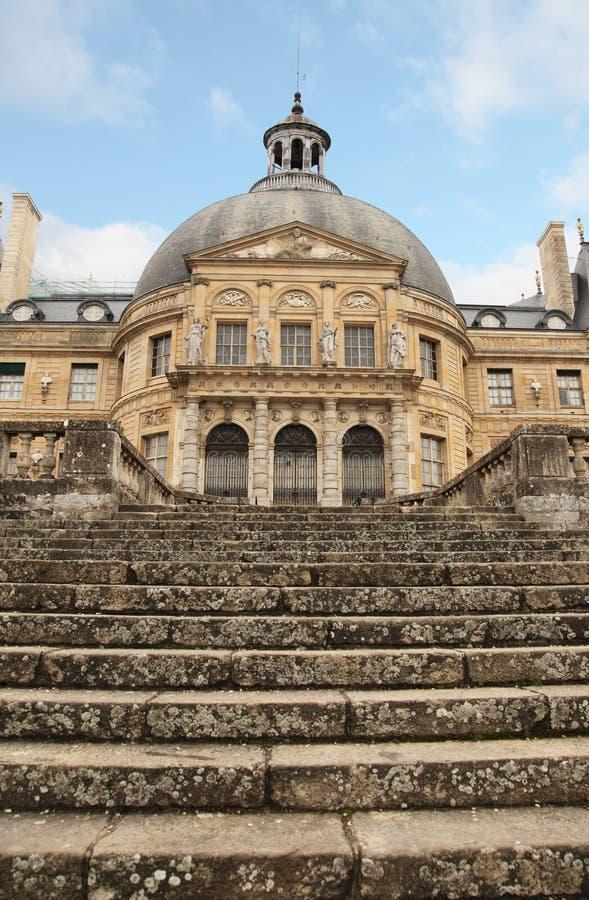 Vaux-le royalty-vrije stock afbeeldingen