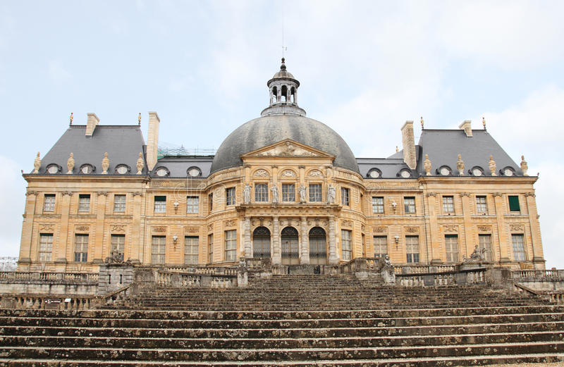 Vaux-le-vicomte stock photo