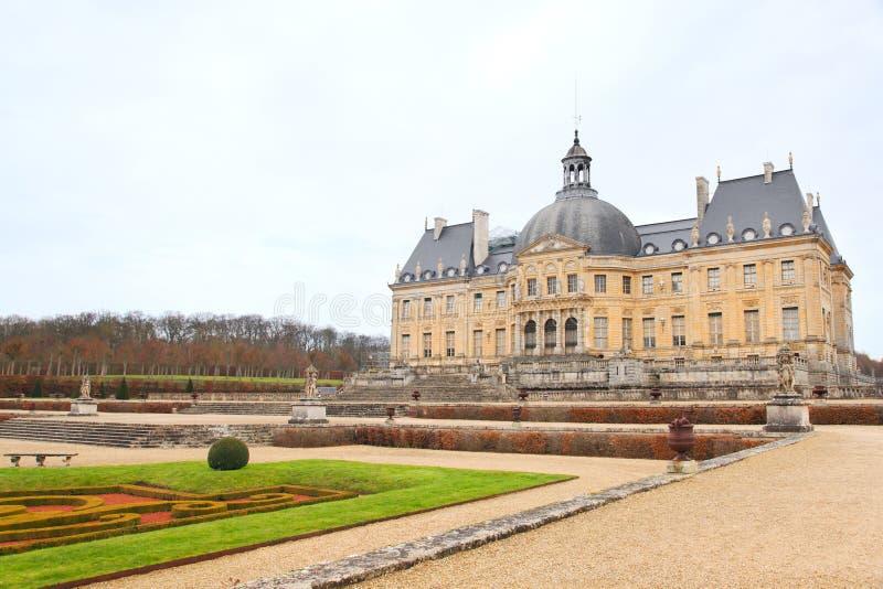 Vaux-le-vicomte royalty free stock photo