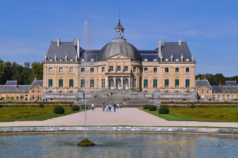 Vaux Le Vicomte stock photo