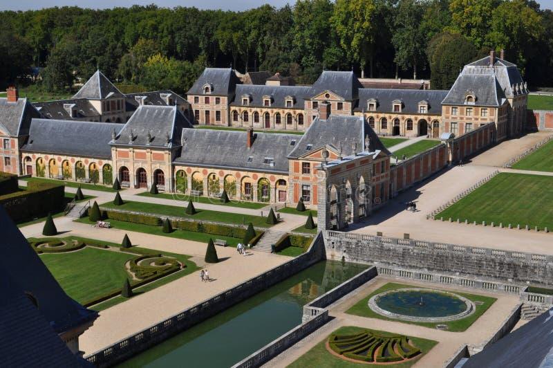 Vaux le Vicomte royalty-vrije stock afbeelding