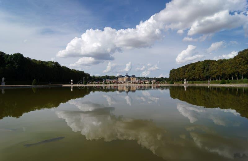 Vaux le Vicomte castle. In île de France country royalty free stock photo