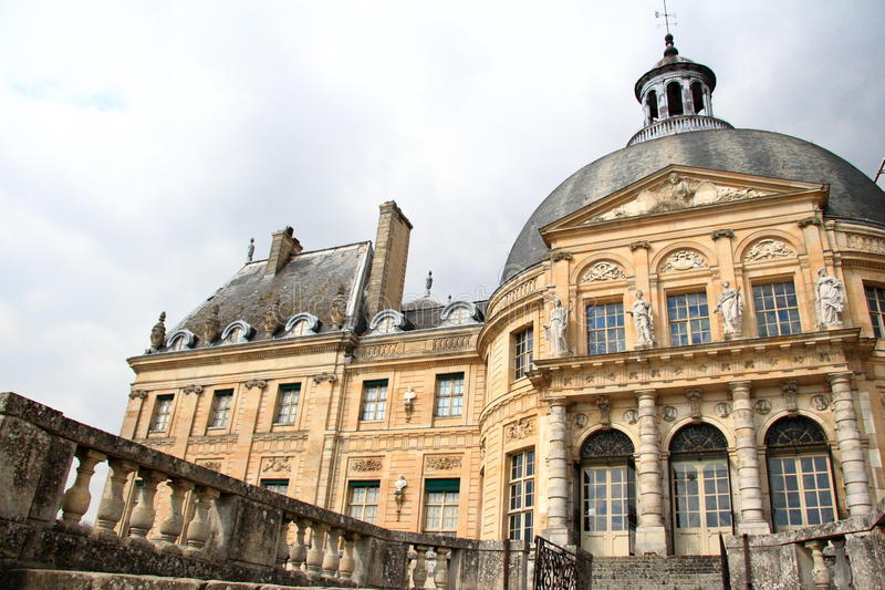 Vaux le vicomte castle, France royalty free stock photo