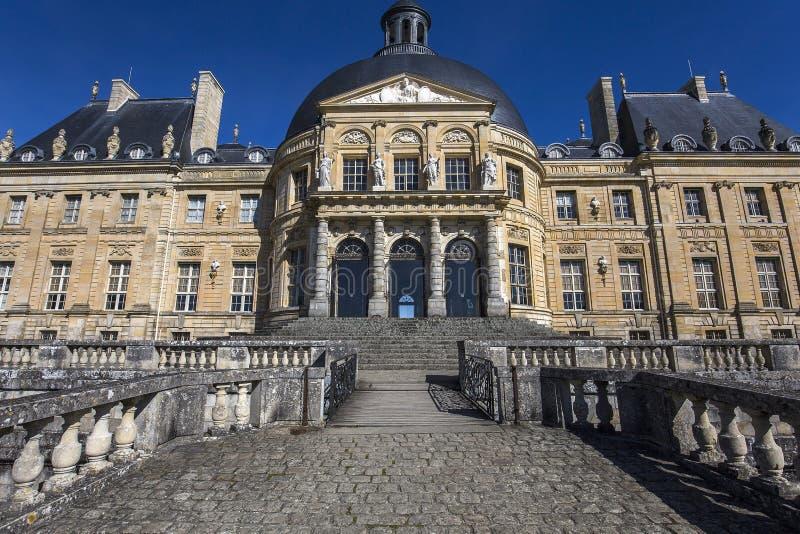 Vaux le vicomte castle, Maincy, France royalty free stock photography