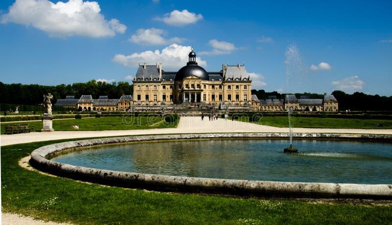 Vaux-le-Vicomte stock image