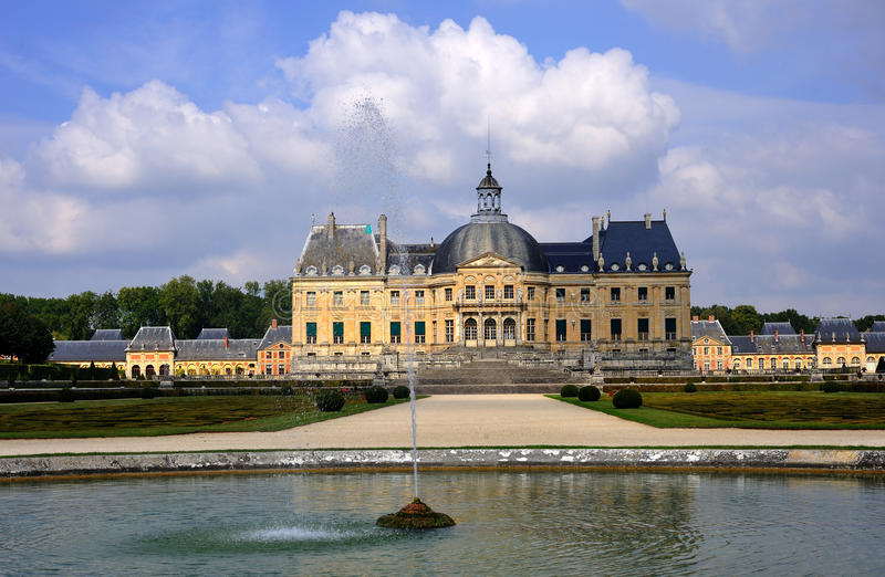 Vaux-le-Vicomte royalty free stock photos