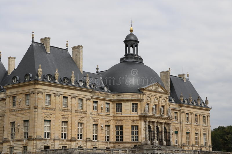 Vaux-le-Vicomte. The Palace of Vaux-le-Vicomte in France royalty free stock image