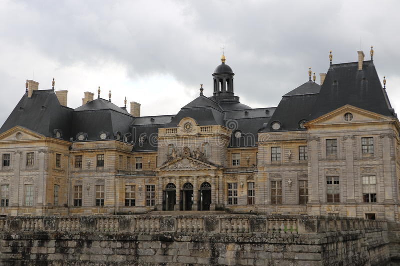 Vaux-le-Vicomte. The Palace of Vaux-le-Vicomte in France stock photography
