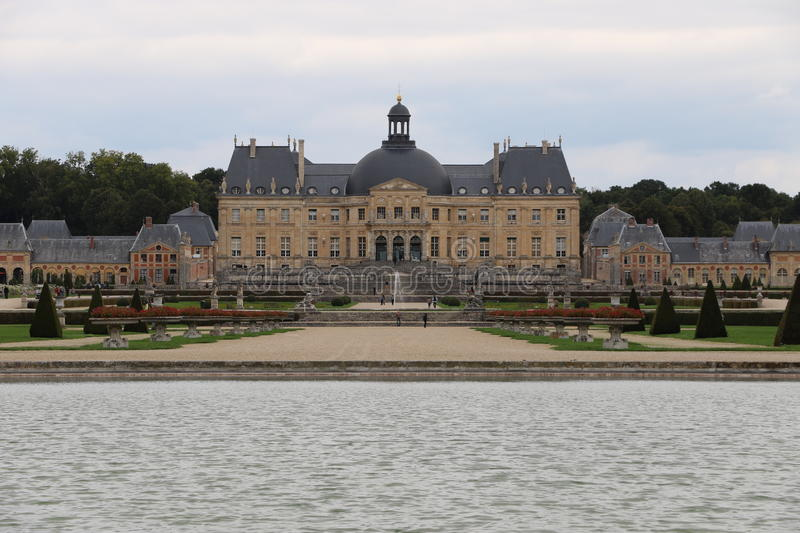 Vaux-le-Vicomte royalty free stock images