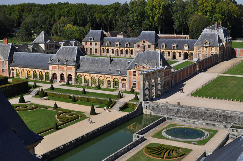 Vaux Le Vicomte royalty free stock image
