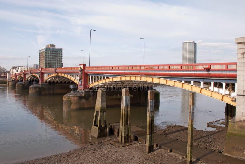 Download Vauxhall Bridge stock image. Image of thames, millbank - 8426885