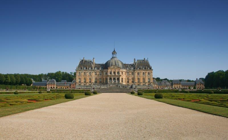vauxvicomte för ch de france le teau royaltyfria bilder
