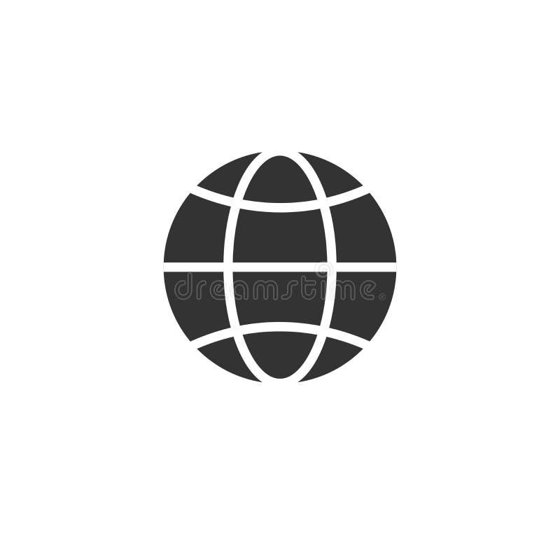 Vaya al estilo plano del icono del negro del vector de la web Dise?o S?mbolo Ilustrador del vector En el fondo blanco ilustración del vector