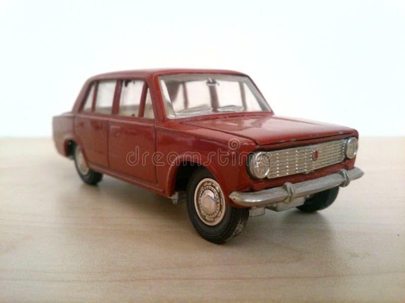 Vaz-2101 car model. Old car model 1:43 scale royalty free stock images