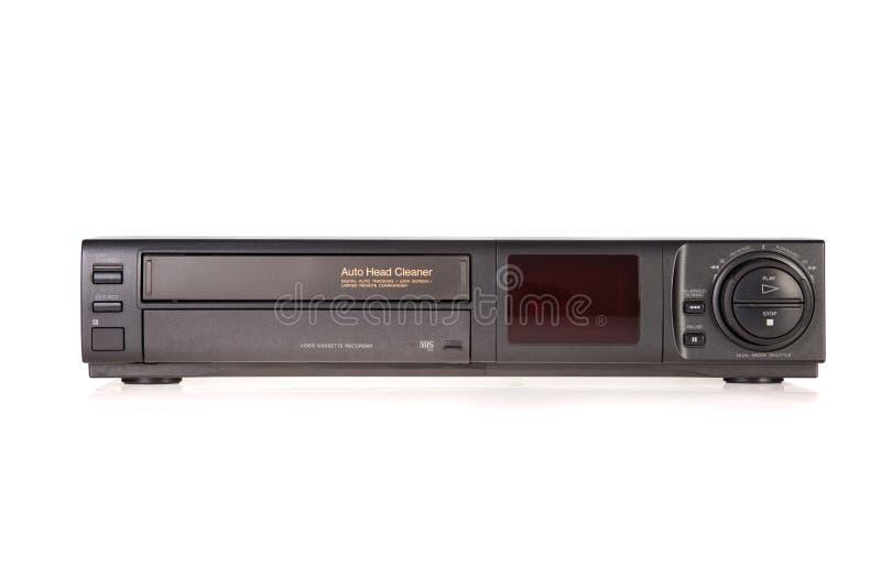 VCR velho, registrador de gaveta video fotos de stock