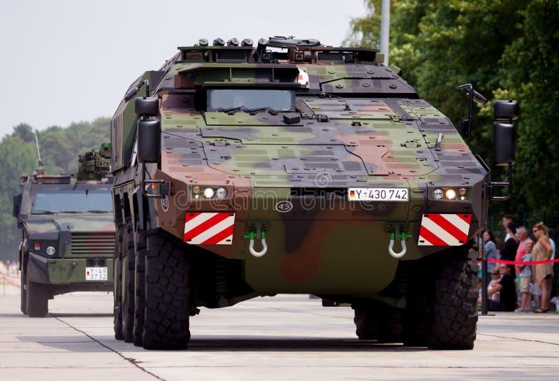 Veículo blindado alemão da ambulância, pugilista imagens de stock royalty free