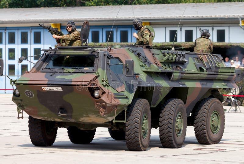 Veículo blindado de transporte de pessoal militar alemão, Fuchs foto de stock royalty free