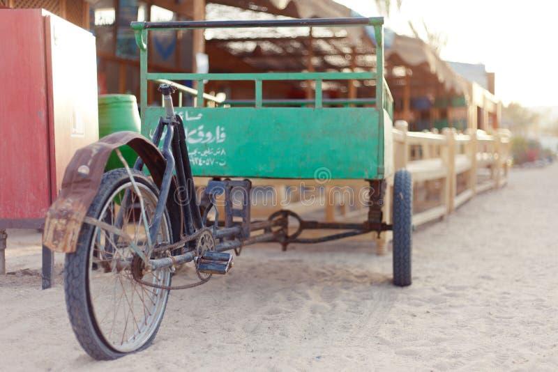Veículo da bicicleta fotografia de stock royalty free