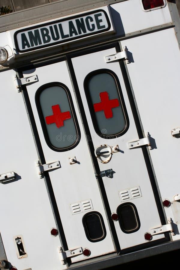 Veículo da emergência imagem de stock