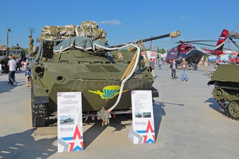 Veículo de combate do BMD-2 transportado por via aérea fotos de stock