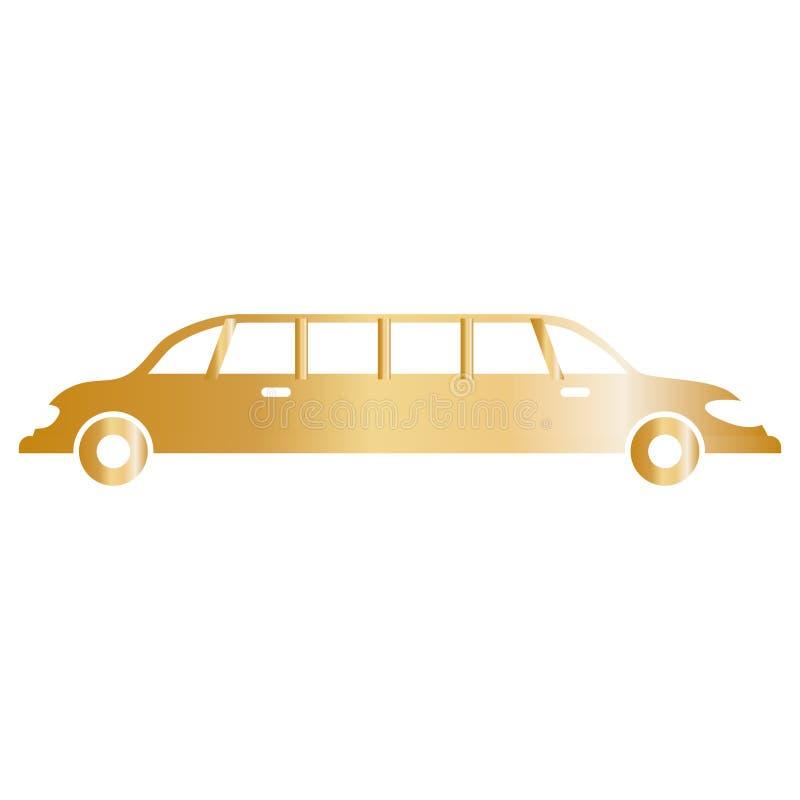 Veículo do luxo da limusina ilustração do vetor