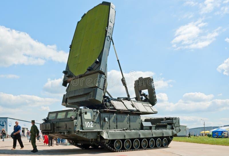 veículo do radar de 9S19 Imbir imagens de stock royalty free