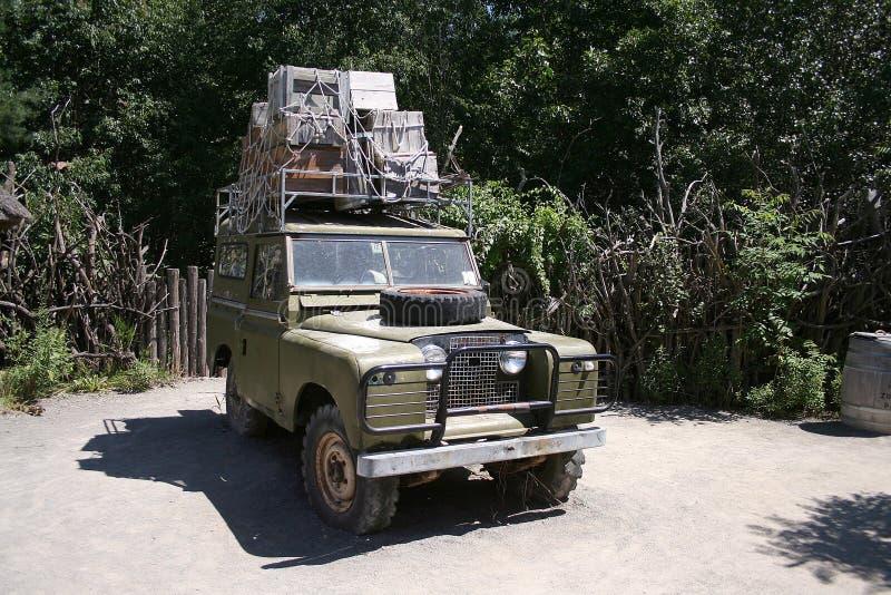 Veículo do safari fotos de stock royalty free