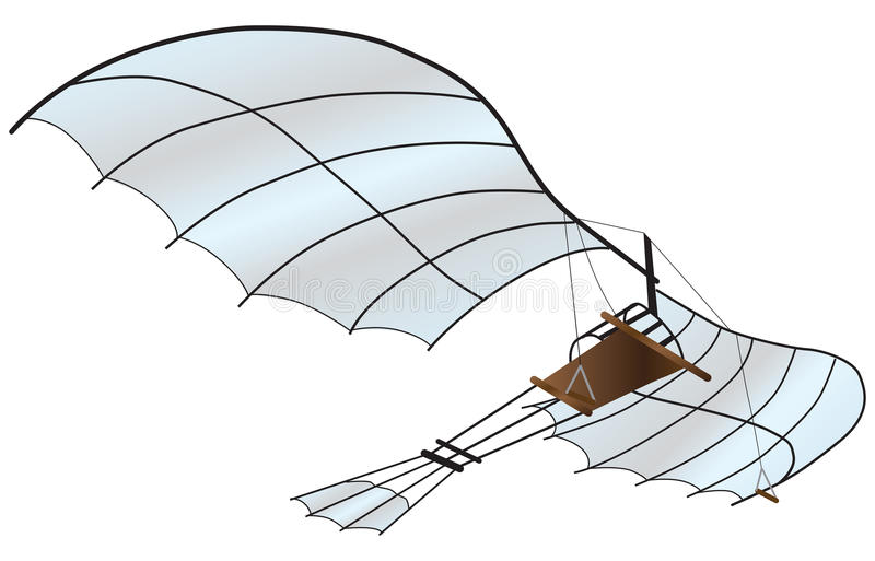 Veículo do voo ilustração royalty free