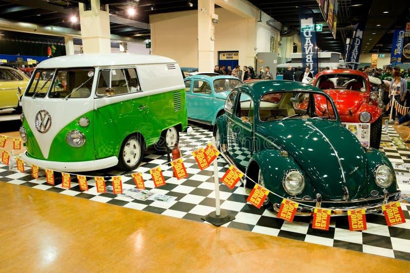 Veículos da VW fotografia de stock