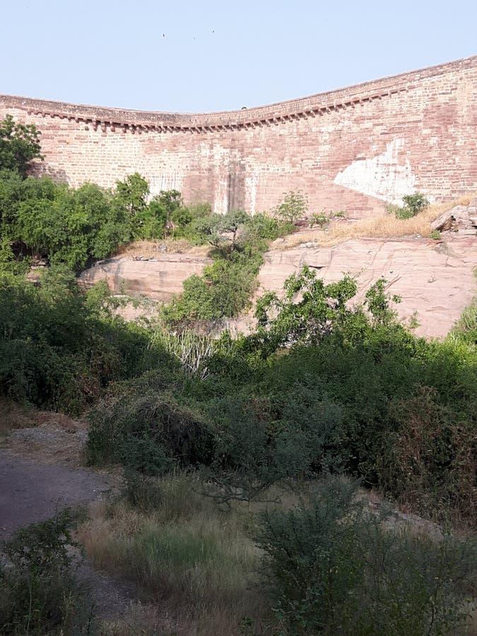 Vea la Gran Muralla foto de archivo