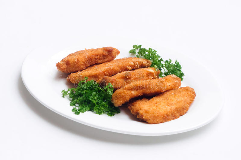 Veal cutlet stock photography
