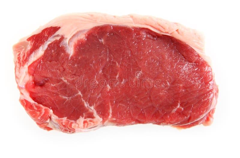 Veal sirloin steak isolated stock photos