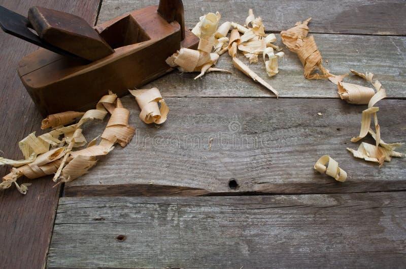Vecchi attrezzi per bricolage piani fotografia stock for Piani di artigiano contemporanei