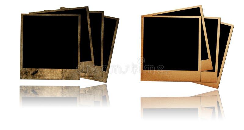 Vecchi blocchi per grafici della foto illustrazione di stock