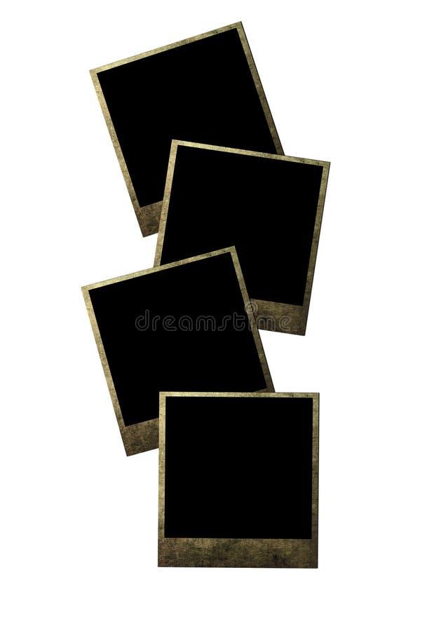 Vecchi blocchi per grafici della foto fotografia stock libera da diritti