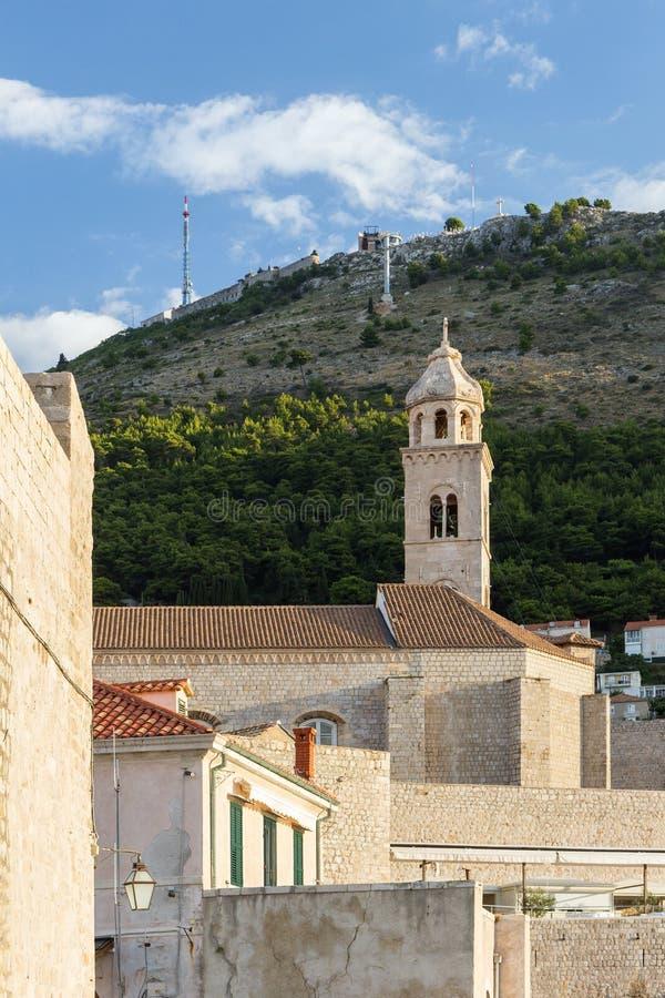 Vecchi costruzioni e supporto Srd in Ragusa fotografia stock