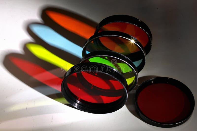 Vecchi filtri dalla foto a colori fotografia stock libera da diritti