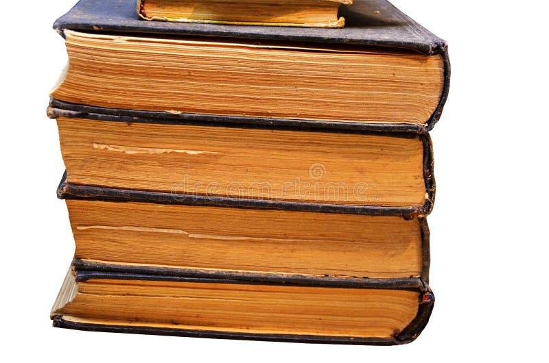 Vecchi libri dall'archivio immagine stock