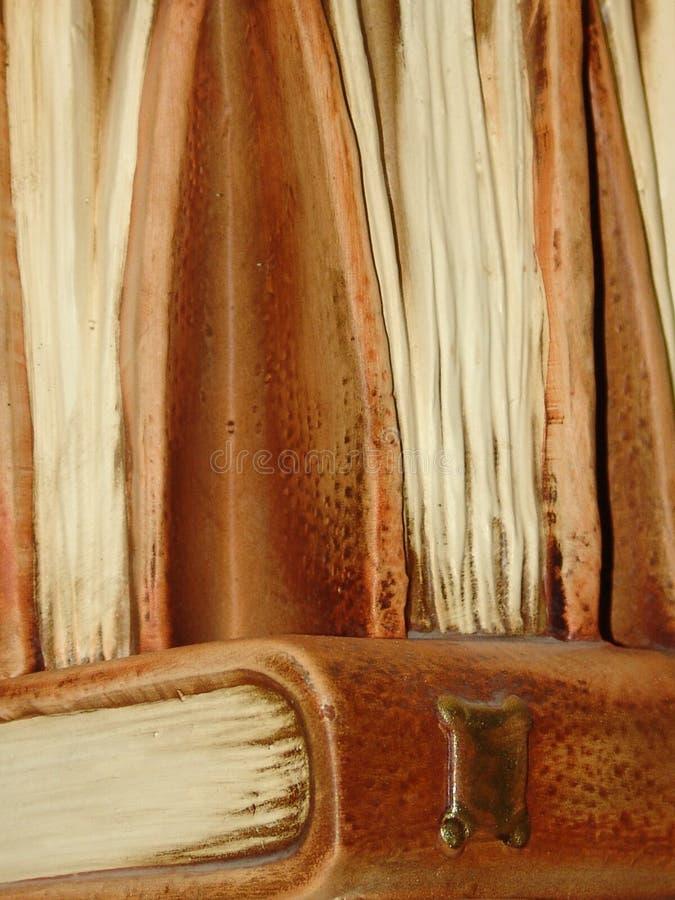 Vecchi Libri Di Pietra Fotografia Stock Libera da Diritti