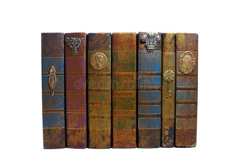 Vecchi libri impilati fotografie stock libere da diritti