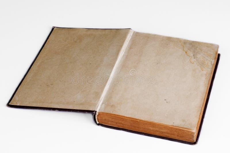 Vecchi libro aperto/album di foto fotografie stock